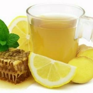 Чай с имбирём при простуде